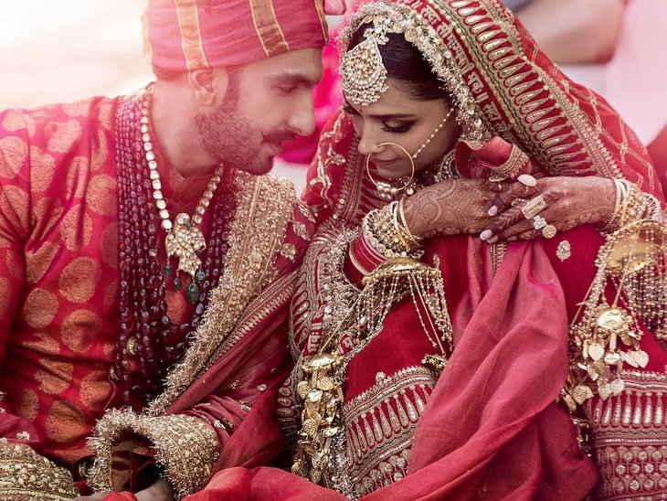 एलबम / फोटो में रणवीर-दीपिका की शादी