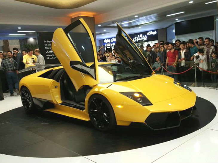 ईरानी कंपनी ने बना डाली यह सुपर कार ओरिजनल से 10 गुना सस्ती