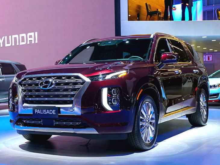LA मोटर शो / हुंडई ने पेश की अपनी 8 सीटर फ्लैगशिप SUV Palisade
