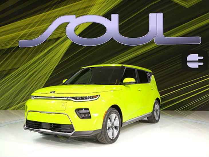 LA मोटर शो / Kia मोटर्स में पेश की थर्ड जनरेशन इलेक्ट्रिक व्हीकल Soul
