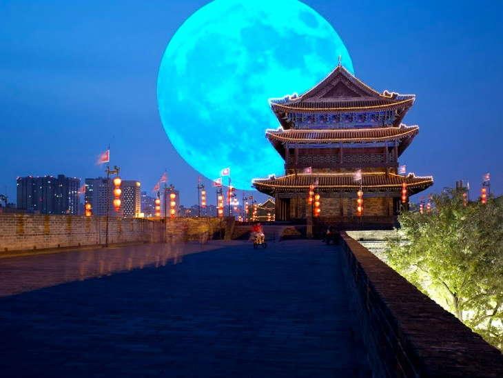 अपने आसमान में अर्टिफिशियल चाँद स्थापित करेगा चीन